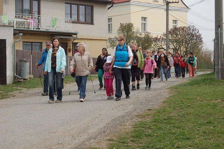Ze zahájení turistické sezony v Horšově.