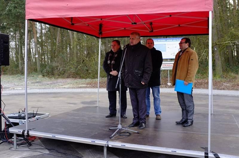 Slavnostní otevření průtahu obcí Krchleby.