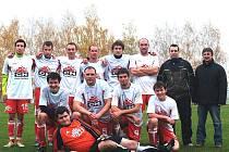 Fotbalisté Spartaku První chodská Klenčí B.