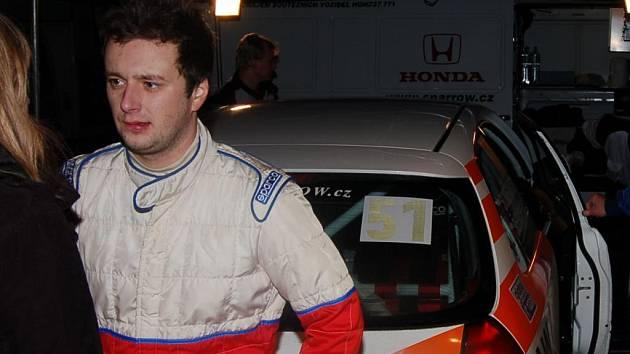 Jan Šlehofer na tento víkend vymění Hondu za Fiata
