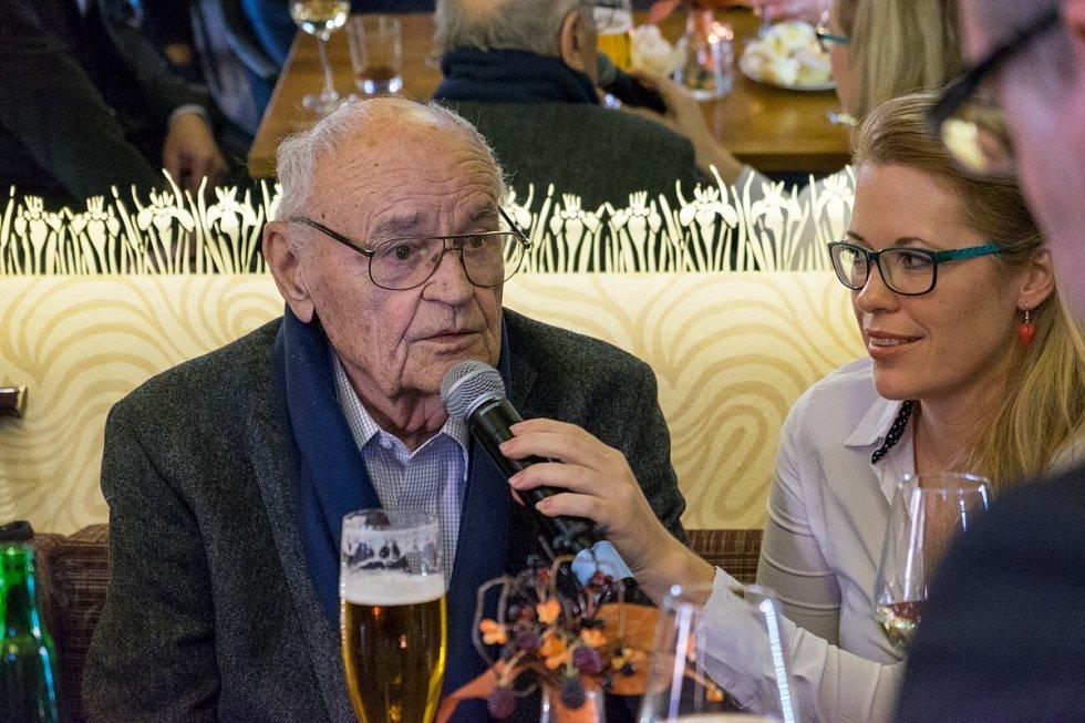 Václav Vorlíček v Domažlicích.