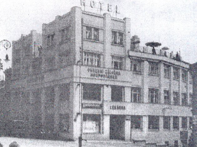 Hotel Chodský dům dříve.