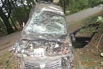 Smrtelná nehoda u Bělé nad Radbuzou.