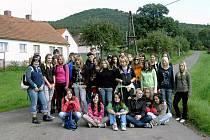 Žáci SOŠ a SOU Horšovský Týn na společném výletu.