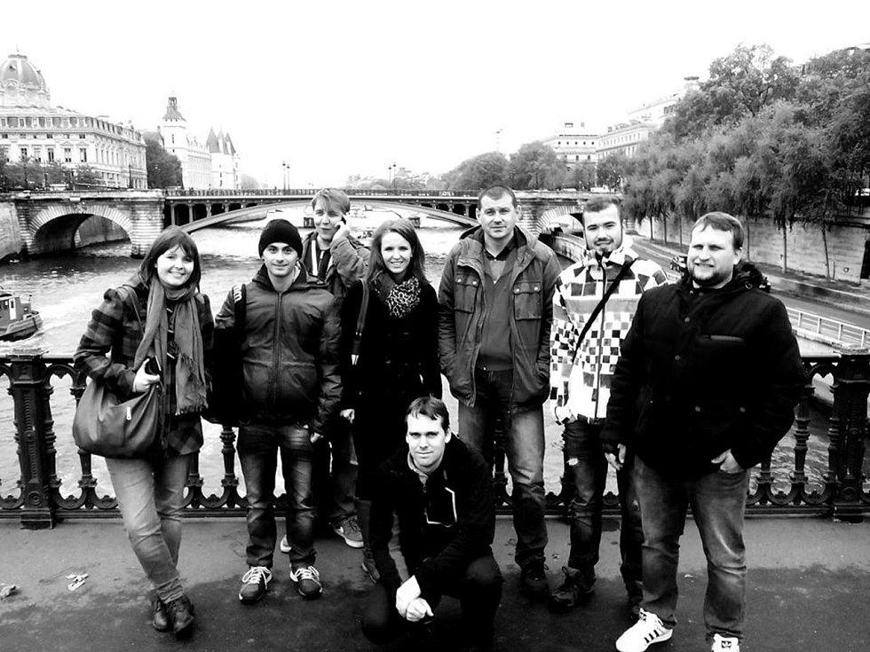 Mrákovští v Paříži.