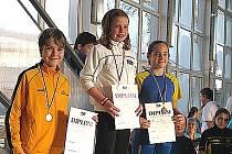 Anna Budková vyhrála 100 m znak.