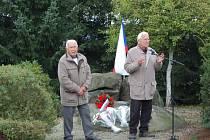 Vzpomínkové setkání se  u Všerubského kamenu konalo letos v září už po osmnácté.