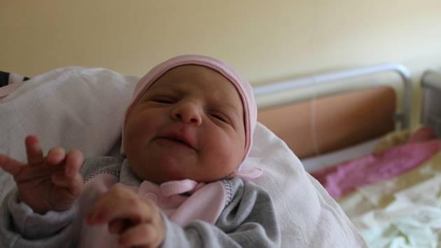 Jasmína Zemanová z Domažlic se narodila 1. prosince v domažlické porodnici. Po narození vážila 3010 gramů a měřila 49 centimetrů.