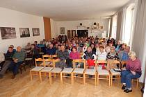 Výroční schůze Místní organizace Svazu tělesně postižených v Horšovském Týně.
