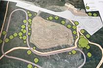 Nový volnočasový areál vznikne na pozemcích bývalého vojenského cvičiště v Holýšově. Bude tam skatepark, pumptrack a in-line dráha.