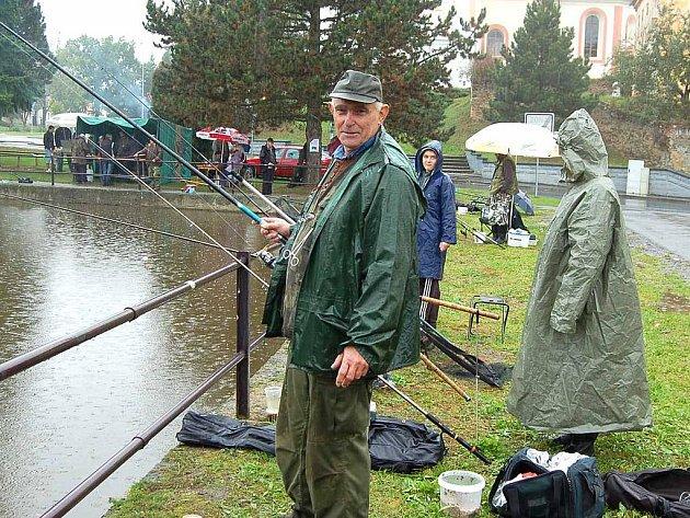 Rybářské závody v Blížejově