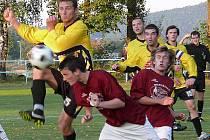 Mrákovští se v derby s Klenčím rozešli smírně 1.1. Ilustrační snímek je z utkání mezi Postřekovem a Klenčím.