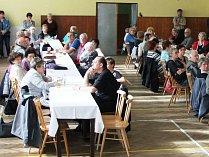 Tradiční setkání důchodců pořádal Obecní úřad Kout na Šumavě.