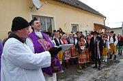 Společný nevolicko-strážský masopust 2009 - Chodská svatba.