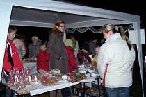 Vánoční trhy v Blížejově.