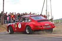 Ilustrační snímek z Historic Vltava Rallye.
