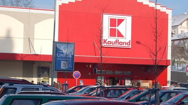 Domažlický Kaufland.