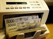 Peníze - ilustrační foto.