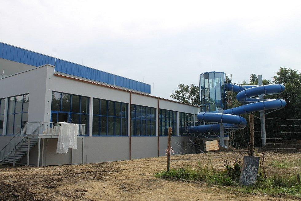 Nově zrekonstruovaný bazén.