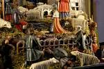 V kostele Všech svatých v Horšově zaujal příbramský betlém s netradičními figurkami čertů.