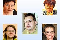Členové redakce Domažlického deníku.