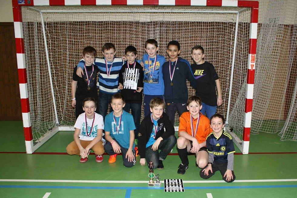 Turnaj mladších žáků ve Kdyni. SKP Okula Nýrsko.