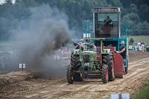Brnířovské traktory v Německu.