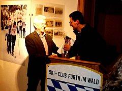 Z výstavy Ski clubu Furth im Wald na tamní staré radnici.