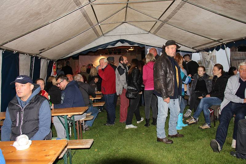 Mlejnfest v Černém mlýně ve Ždánově.