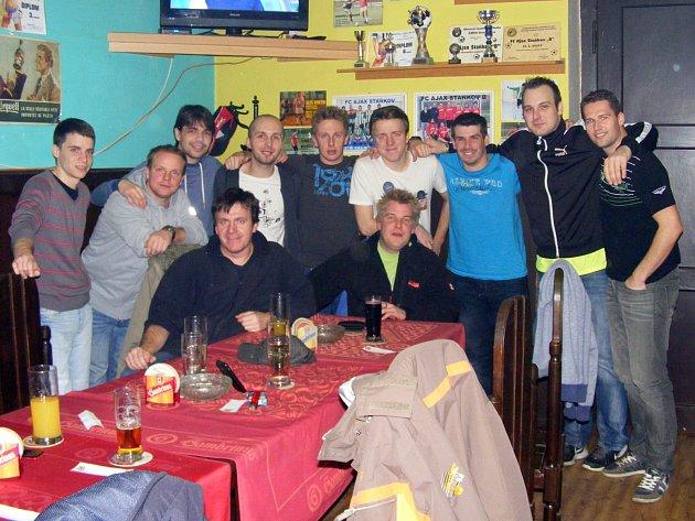 Futsalisté Ajaxu Staňkov na závěrečné.