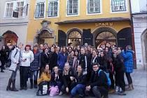 Žáci se vydali na výlet do Rakouska.