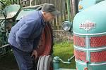 Osmý ročník Setkání starých traktorů v Brnířově.