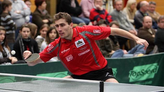 Brnířovský Petr Husník je úspěšný ve stolním tenise.