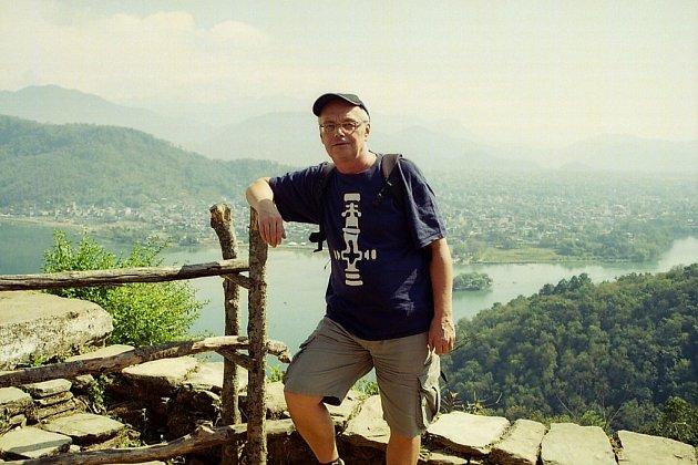 Autor v Pókhaře