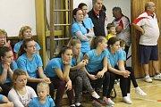 Na sokolské akademii se představila sportovní gymnastika, taneční skupiny, ale i muži z TJ Sokol Přeštice se skladbou z 19. století.