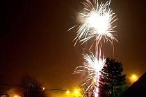 V Černíkově nebude na Silvestra chybět ani ohňostroj.