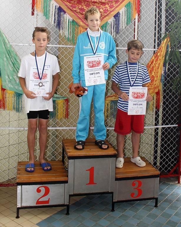Velká cena Chodska v plavání 2014.