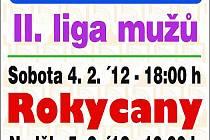 Pozvánka na víkendové zápasy basketbalistů Jiskry Domažlice.