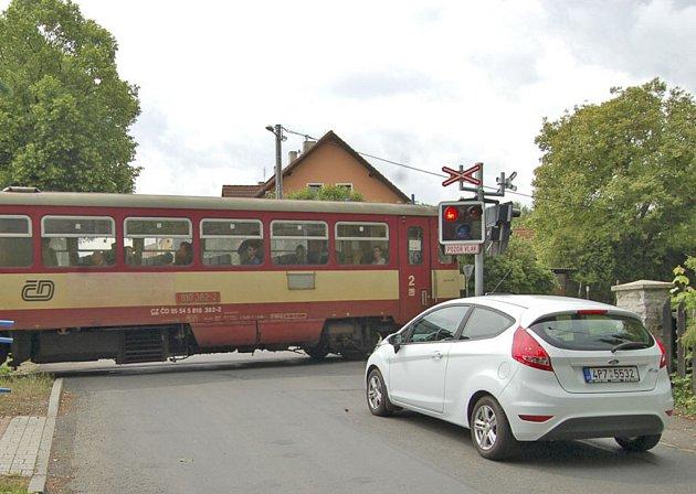 Přejezd v domažlické Jiráskově ulici bude uzavřen 9. a 10. června. Objížďka bude vedena před Kout na Šumavě.