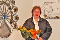 Dana Soukupová - z někdejší přadleny se změnila v novodobou drátenici.