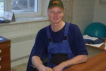 Holanďan Robert van Herwerden vede svému krajanovi  už sedm let  zemědělskou farmu ve Spáňově.