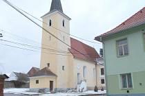 Kostel sv. Mikuláše v Úboči.