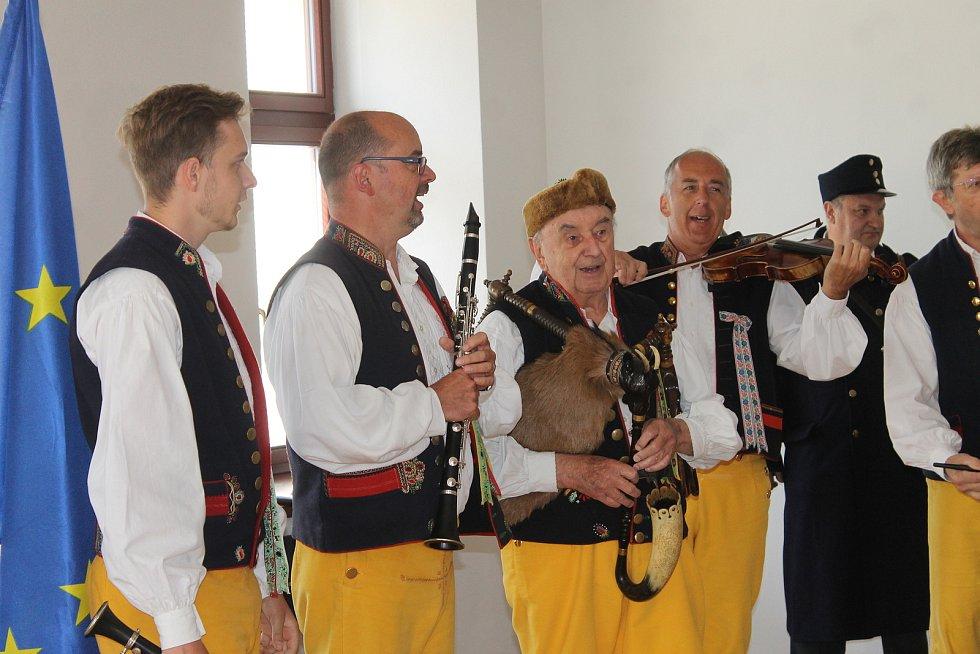 Slavnostní otevření pivovaru v Domažlicích.