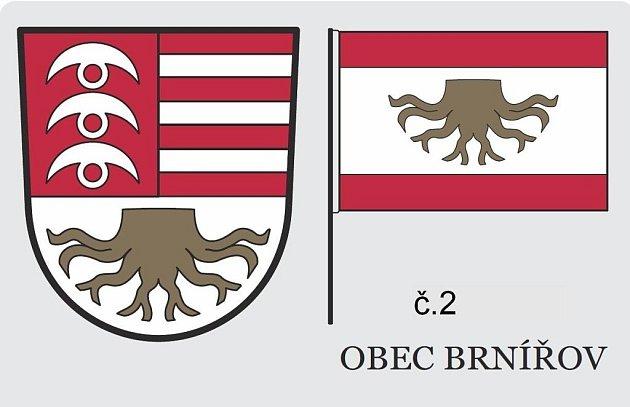 Návrh znaku Brnířova.