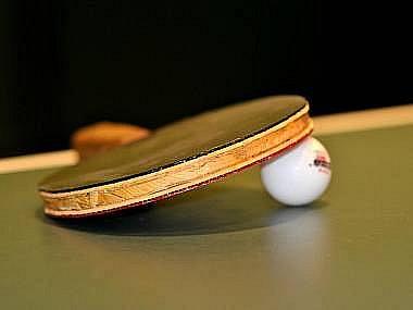 Ilustrační snímek. Stolní tenis.