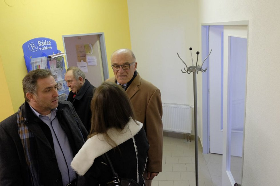 Dokončení rekonstrukce zdravotního střediska v Holýšově.