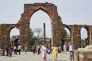Nerezavějící železný sloup v Dillí.