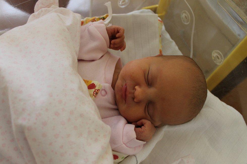 Anna Knická z Třebnic (3480 g, 49 cm) se narodila 21. ledna ve 16:44 v domažlické nemocnici. Rodiče: Jitka Růžková a Lukáš Knický.