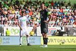 Utkaní 4. kola fotbalové FORTUNA:LIGY: MFK Karviná - SK Slavia Praha, 4. srpna 2019 v Karviné. Na snímku Tomáš Souček.