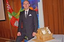 Milan Polák zvítězil v krajském kole soutěže Enersol se svým projektem Sruby – úsporné a ekologické bydlení z obnovitelných zdrojů.